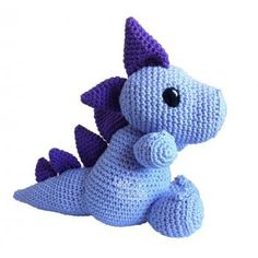 Dragon amigurumi crochet free pattern patrón gratis