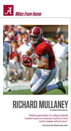 Richard Mullaney, WR Alabama, article - 2015 Game 8 vs Tennessee from the…