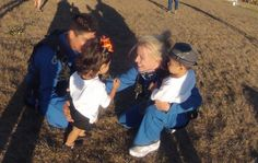 Super cute skydiving proposal <3 Love when proposals involve kids!!