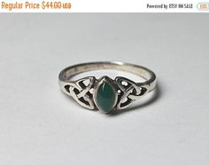 ON SALE Vintage 925 Silver Celtic Knot & by HauteVintageJewels