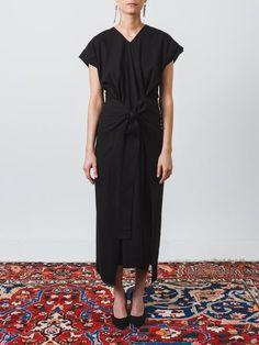 Black Georgia Dress