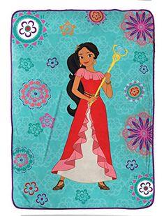"Disney Elena of Avalor Magic of Avalor Twin 62"" x 90"" Bla..."