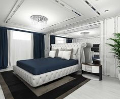 small but elegant and classic bedroom. see more on www.valentinaguzun.ro