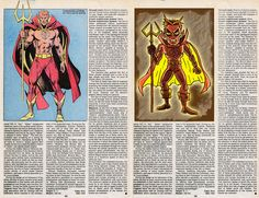 The Official Handbook to the Marvel Universe - REDUX Edition: July 2012