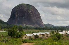Nigeria's tallest mountain.