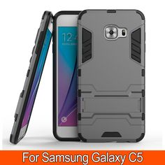 Find More Phone Bags & Cases Information about New Arrival Armor Case Kickstand Back Cover for Galaxy C5 Heavy Duty Hybrid Holder Cover TPU+PC Phone Case for Samsung Galaxy C5,High Quality case owl,China c5 mobile Suppliers, Cheap case cool from TopArmor Store on Aliexpress.com