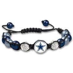 Dallas Cowboys Macramé Beaded Bracelet The Danbury Mint Dallas Cowboys Crafts, Dallas Cowboys Outfits, Dallas Cowboys Pictures, Dallas Cowboys Women, Cowboys Football, Bracelets For Men, Beaded Bracelets, Charm Bracelets, Cowboy Crafts