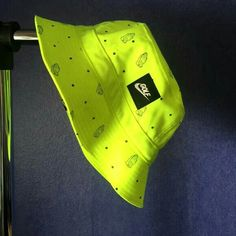 Nike golf bucket hat neon yellow Nike 6 god bucket hat, never worn Nike Accessories Hats Cute Lazy Outfits, Outfits With Hats, Cool Bucket Hats, Girls Fashion Clothes, Fashion Outfits, Bucket Hat Outfit, Yellow Nikes, Neon Yellow, Cute Hats