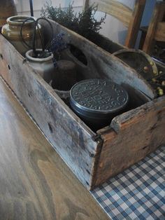 Antique toolbox~