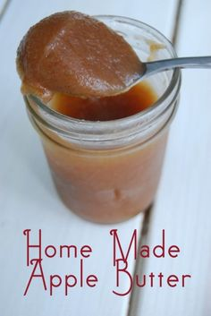 HM Apple Butter  5 apples (peeled ), water to cover,  1/2c brown sugar, 1t cinnamon