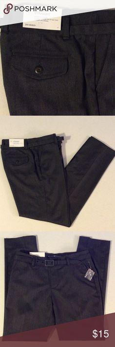 GAP DRESS PANTS WITH BELT GAP Straight  Dress Pants with Belt ➖ 65% Poly 34% Viscose 1% Spandex ➖ GAPstretch GAP Pants Ankle & Cropped