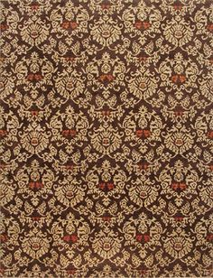 Rugsville #Opera  #Traditional  Browns Wool #Rug 10781