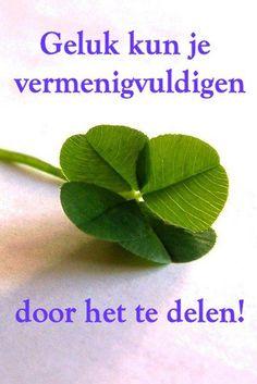 Geluk kun je vermenigvuldigen door het te delen♥ www.aloeverabeneluxbusiness.nl