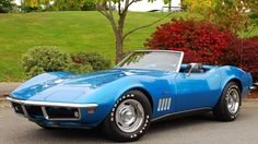 1968 Corvette Stingray | ... evening... - Page 4 - Corvette Action Center - Corvette Forum  I'll take one but in White with big chrome side pipes please!