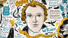 Animating Blake. Whiteboard animation showing life of English poet, painter and printmaker William Blake. He encouraged us people live a life of creativity.