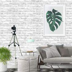 Grey Brick Wallpaper 3d, Brick Wallpaper Peel And Stick, Fall Wallpaper, 3d Brick Wall Panels, Brick Wall Paneling, White Paneling, Best Removable Wallpaper, Temporary Wallpaper, Brick Texture