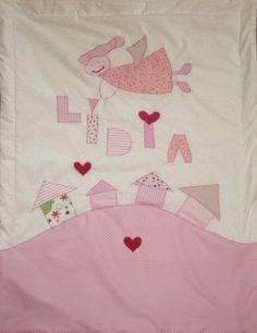 Lídia - baby blanket 80 x 100 cm www.masnimesi.net