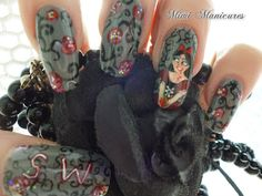 this is my gothic horror Disney snow white http://mimimanicures.blogspot.co.uk/2013/05/gothic-horror-disney-snow-white.html