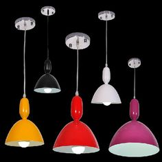 Fashion Creative Art Single Head Aluminum Dining Room Pendent Lamp Bedroom Pendent Lamp Bar Pendent Lamp -8
