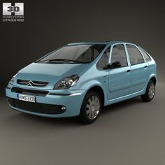Citroen Xsara Picasso 2004 by humster3d on @creativework247