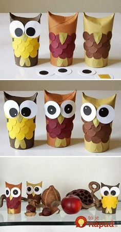 Diy Discover Toilet paper roll crafts diy for kids crafts for kids rolled paper Kids Crafts Owl Crafts Fall Crafts For Kids Toddler Crafts Diy For Kids Arts And Crafts Winter Craft Autumn Crafts Toilet Paper Roll Crafts Fall Crafts For Kids, Toddler Crafts, Diy For Kids, Kids Crafts, Winter Craft, Autumn Crafts, Spring Crafts, Toilet Paper Roll Crafts, Diy Paper