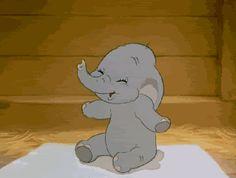 Dumbo is the most adorable Disney character Disney Pixar, Walt Disney, Disney Marvel, Retro Disney, Vintage Disney, Disney Love, Disney Magic, Disney Art, Anime Disney