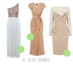 High street wedding dresses for the budget bride! :) Have a little sparkle dresses