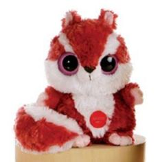 "Chewoo Red Squirrel Yoohoo with Sound - 8"" by Aurora - 30658"