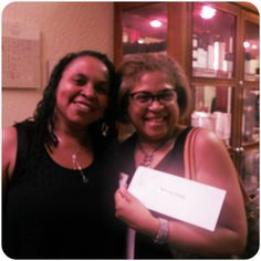 Congratulations to Naomi who won the $1,000 grand prize at our Glitter & Lace celebration!