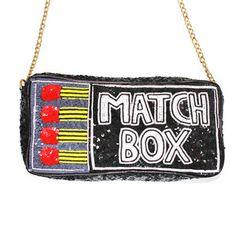 Rodnik Band Sequin Match Box Handbag now featured on Fab.