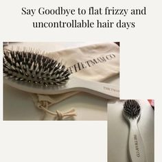 Boar Hair Bristle Brush by the tmamco. | Etsy Denman Brush, Hair Brush Set, Hair Day, Hair Type, Brushes, Curly Hair Styles, Packaging, Ebay, Hair Color Brush