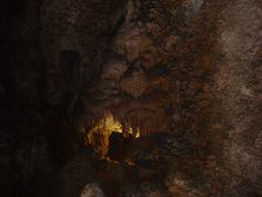 Carlsbad Cavern...Devil face