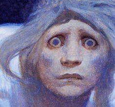 Alphonse Mucha, detail
