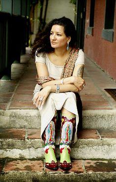 "Author and poet Sandra Cisneros - Her work, ""The House on Mango Street,"" sold over 2 million copies."