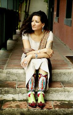 "Author and poet Sandra Cisneros - Her work, ""The House on Mango Street,"" sold over 2 million copies."