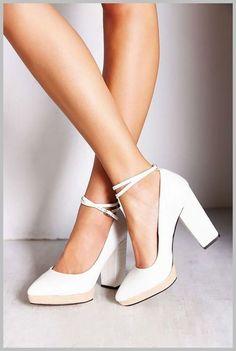 4556d396428 Wedding Shoes - Ballerina Wedding Shoes for Your Wedding  WeddingShoes  White Wedding Heels