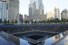 The 9/11 memorial is a somber yet beautiful reminder of all that we lost that day: http://bit.ly/X0RlQl