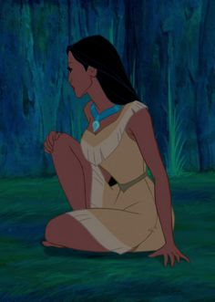 Can I just say how upset I get when people pretend Pocahontas isn't the most inspiring princess! They act like she isn't a princess at all..