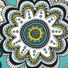 painted petals | by andie hanna #print #pattern #illustration #art