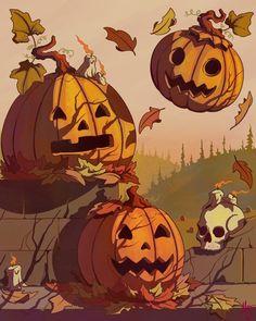 Every day is Halloween: Photo Halloween Horror, Halloween Night, Vintage Halloween, Fall Halloween, Halloween Crafts, Happy Halloween, Halloween Decorations, Halloween Rules, Halloween Artwork