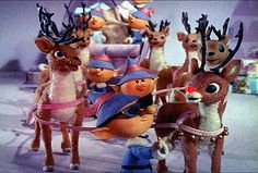 Christmas Movies wallpaper called Rudolph, the Red-Nosed Reindeer