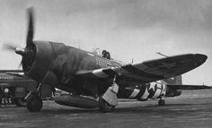 "Republic P-47 D-25 ""Thunderbolt"" HV-A 42-26418, Lt.Col. Francis Gabreski, 61st Figter Squadron, 56th Fighter Group"