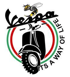 Vespa Gtv, Piaggio Vespa, Vespa Scooters, Vespa Illustration, Vespa Logo, N Logo Design, New Vespa, Classic Vespa, Cycle Ride