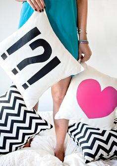 DIY: Make your own pillows!