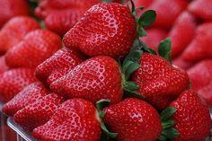 Imagen de strawberry, fruit, and food