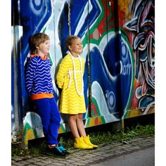 Metsola SS13: Hoodie (Wave blue) (74/80-146/152cm) Lily Pulitzer, Waves, Spring Summer, Hoodies, Blue, Dresses, Fashion, Vestidos, Moda