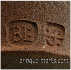 Bernard Leach Seal Mark & St Ives Pottery Mark