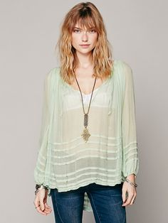 Free People FP ONE Tie That Binds Blouse, $88.00