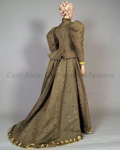 Day dress, ca 1895 England, Kent State