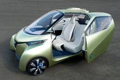 Nissan PIVO 3 Concept | The smart urban commuter EV of the near future